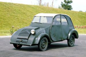 Citroen 2CV prototype 1939