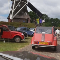 Zuidoost-Drenthe oldtimerrit Citroen 2CV