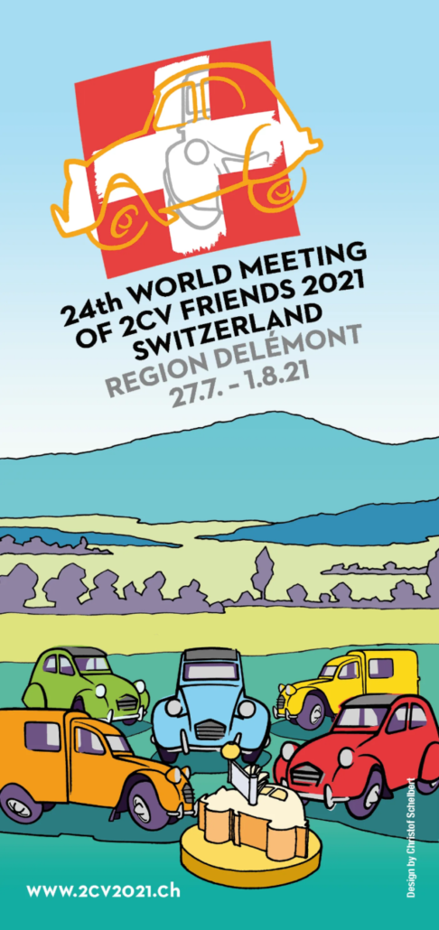 24th 2CV World meeting Switzerland